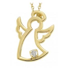 "Zlata verižica ""Angel Kristal"""