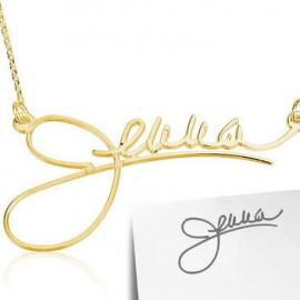 """Zlata verižica """"Podpis"""""""