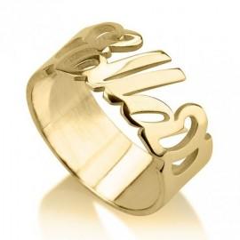 """Zlat prstan """"Ime"""""""
