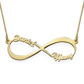 "Zlata verižica ""Infinity Ime"""