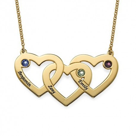 "Zlata verižica ""Trojno srce"""