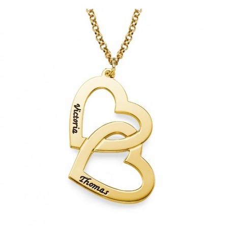 """Zlata verižica """"Dvojno srce"""""""
