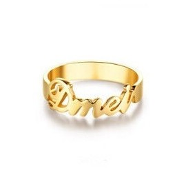 """Zlat prstan """"Ime1"""""""