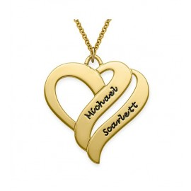 """Zlata verižica """" Dvojno srce"""""""