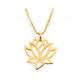 "Zlata verižica "" Lotusov cvet"""