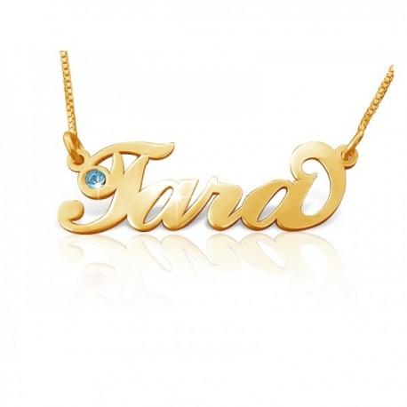 "Zlata verižica ""Ime Kristal"""