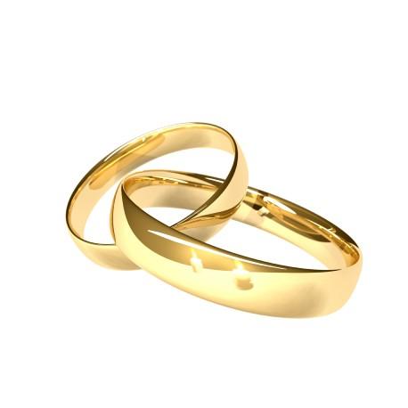 """Zlat prstan """"Par"""""""