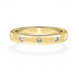 """Zlat prstan """" kristal"""""""