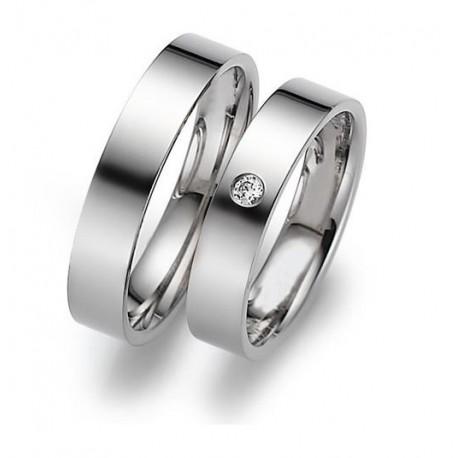 """Srebrni prstan """"Za naju"""" zanjo in zanj"""