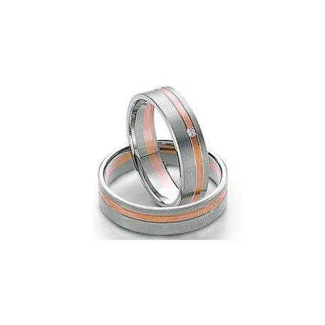 """Srebrni prstan """"2x rose"""" zanjo in zanj"""