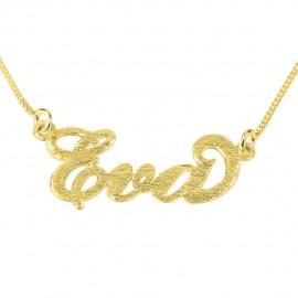 """Zlata verižica """"Ime Bleščice"""""""