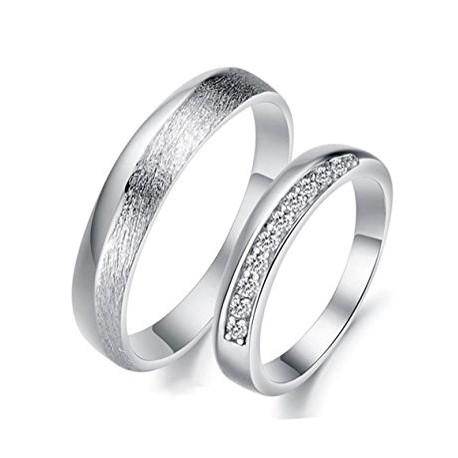 """Srebrni prstan """"We are prfect together"""" zanjo in zanj"""