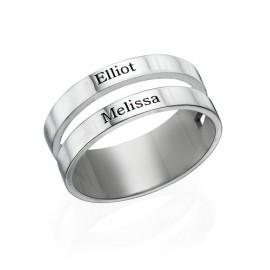 """Srebrn prstan """"Nali N0105"""""""