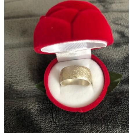 """Srebrn prstan """"Nali N01005"""" diamantiran"""