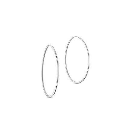 Srebrni uhani okrogli4