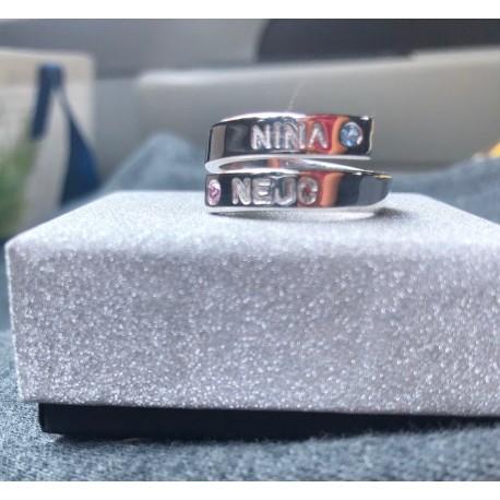 "Srebrn prstan ""Nali10857"""