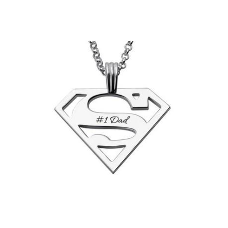 """Srebrna verižica """" Super moški"""""""