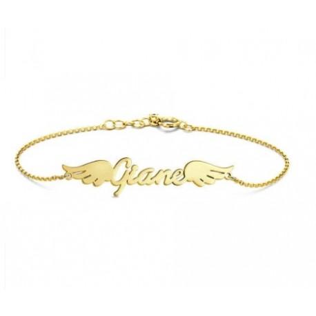 "Zlata zapestnica ""Ime Angel"""